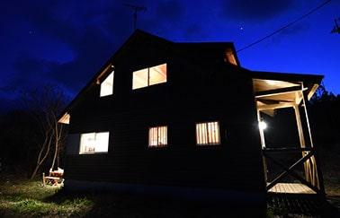Lake side House 高島について